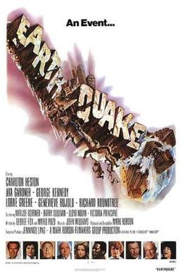 Film poster for Earthquake (film) - Copyright ...