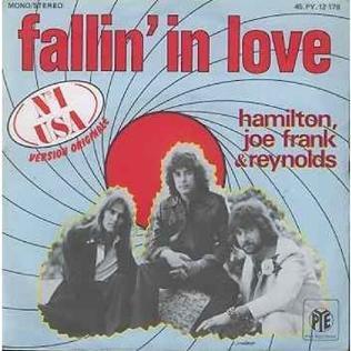Fallin In Love Hamilton Joe Frank Reynolds Song Wikipedia