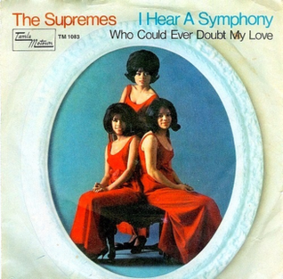 I Hear a Symphony The Supremes single