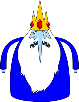 Ice King Wikipedia Strong lion mascot roaring and throwing a football. wikipedia