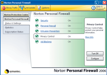 how to allow programs access on norton firewall