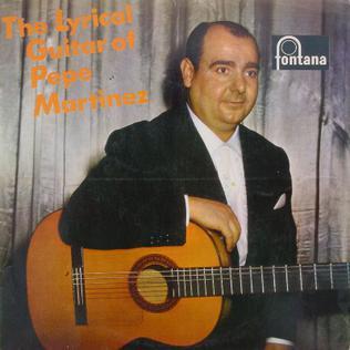 Pepe Martínez Spanish musician