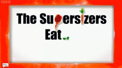 Picture of a TV show: The Supersizers Eat...
