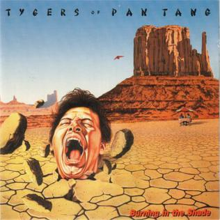 <i>Burning in the Shade</i> 1987 studio album by Tygers of Pan Tang