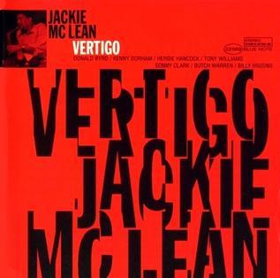 <i>Vertigo</i> (Jackie McLean album) 1980 studio album by Jackie McLean