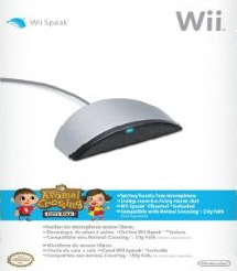 The box art for Wii Speak, a voice communicati...