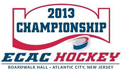 2013 ECAC Hockey Men's Ice Hockey Tournament logo
