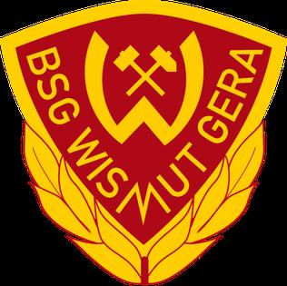 BSG Wismut Gera association football club