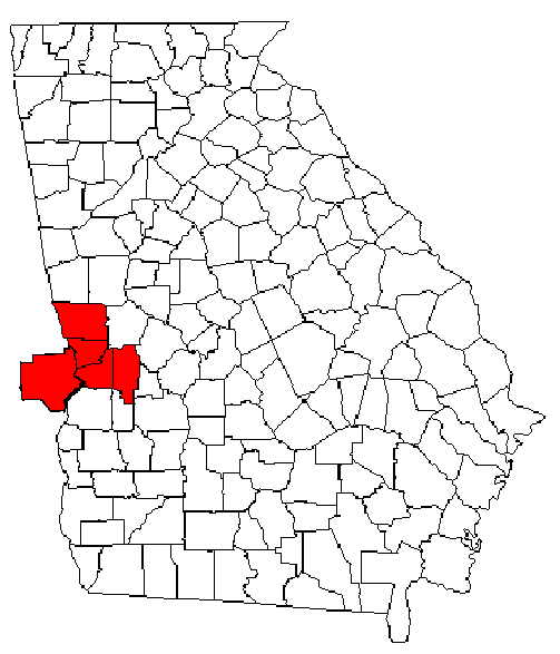 Columbus Ga Map File:Columbus, georgia metro area map.png   Wikipedia