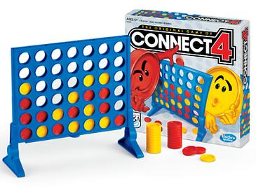 Picture of a game: Connect 4