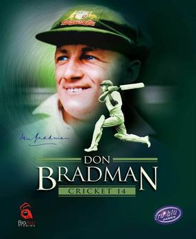 Picture of a game: Don Bradman Cricket 14