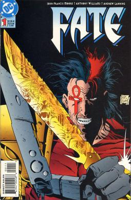 Fate #1 (Nov. 1994) featuring Jared Stevens. Cover art by Anthony Williams and Andy Lanning.