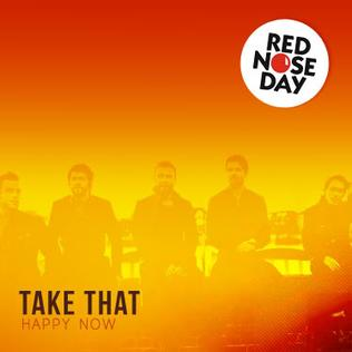Happy Now (Take That song) 2011 single by Take That