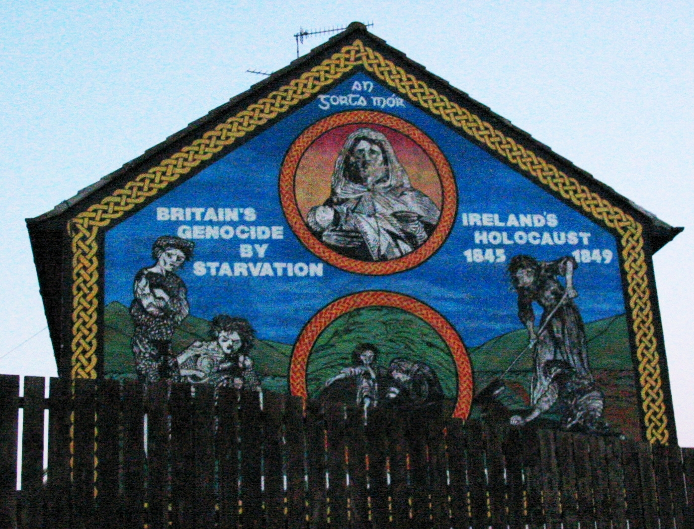 File ireland 39 s holocaust mural in the falls for Murals belfast