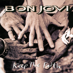 <i>Keep the Faith</i> 1992 album by Bon Jovi