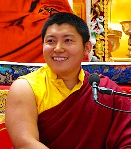 Vajra Master of Ka-Nying Shedrup Ling monastery