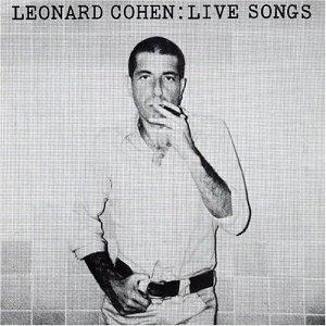 <i>Live Songs</i> Leonard Cohen album