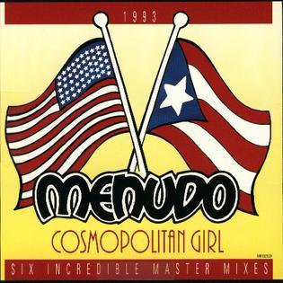 <i>Cosmopolitan Girl</i> 1993 studio album by Menudo