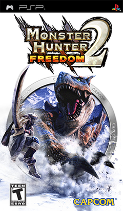 Picture of a game: Monster Hunter Freedom 2