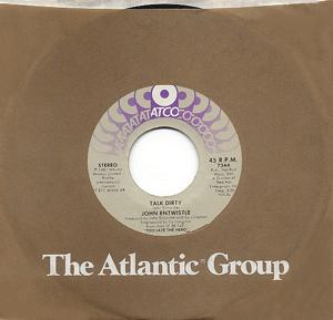 Talk Dirty (John Entwistle song) song by John Entwistle