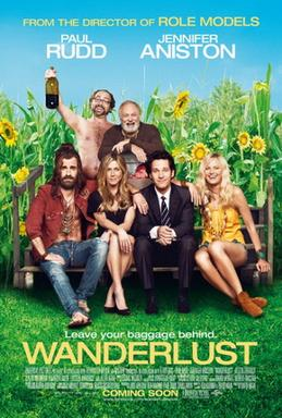 Movie release poster for Wanderlust, courtesy Universal Pictures