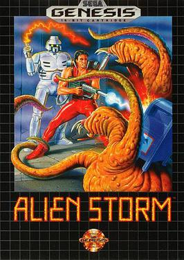 Picture of a game: Alien Storm