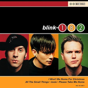 Cover Blink 182 - I Won't Be Home For Christmas