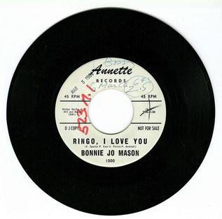 Ringo, I Love You 1964 song performed by Cher