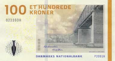 Danish Currency In  Letters