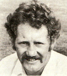 David Bairstow English Test and county cricketer