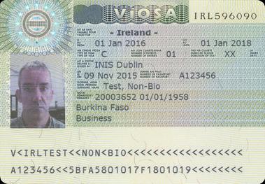 Visa policy of ireland wikiwand irish visa specimen altavistaventures Choice Image