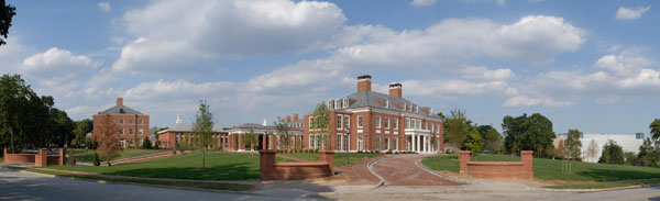 Mason Hall (2007), the Visitor's Center & Admissions Office at Johns Hopkins University
