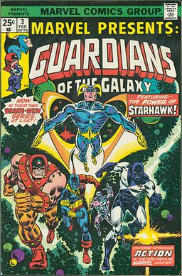 Guardians of the galaxy comic book 1