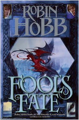 Robin Hobb Fool's Fate book cover