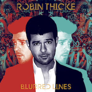 <i>Blurred Lines</i> (album) 2013 studio album by Robin Thicke