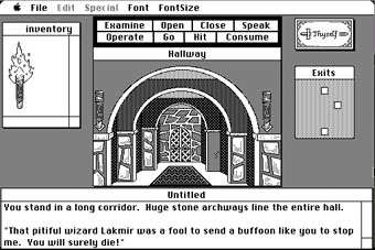 Macintosh Shadowgate screenshot