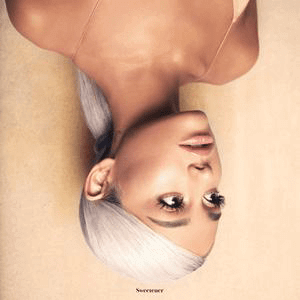 Image result for sweetener album cover