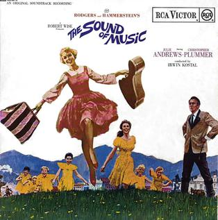 use of music and sound in Maria: [singing] the hills are alive with the sound of music / with songs they have sung for a thousand years / the hills fill my heart with the sound of music / the hills fill my heart with the sound of music.