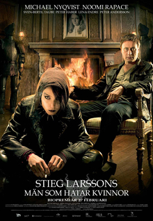 Lisbeth Salander with Mikael Blomkvist