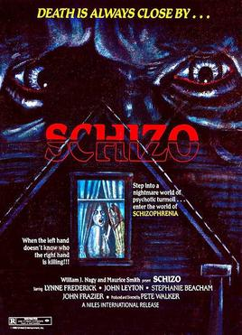 Schizo (1976 film) movie poster