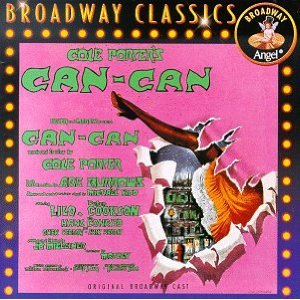 <i>Can-Can</i> (musical) 1953 musical with music and lyrics by Cole Porter, and a book by Abe Burrows