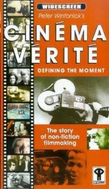 Cinéma vérité dvd cover