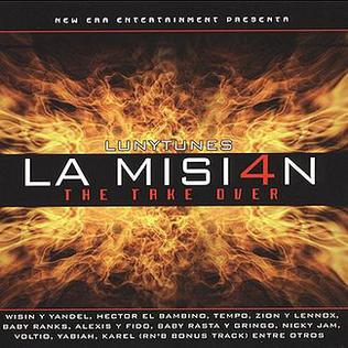 <i>Luny Tunes Presents La Mision 4: The Take Over</i> 2004 compilation album by Various artists