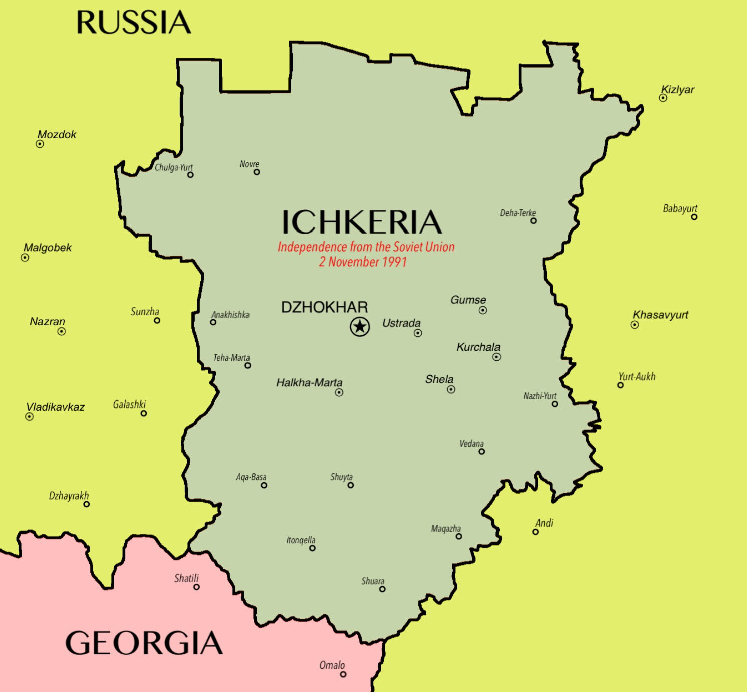 File:Map of Ichkeria (Chechnya).jpg - Wikipedia on azerbaijan map, armenia map, serbia map, russia map, north korea map, second chechen war, ramzan kadyrov, slovenia map, shamil basayev, caucasus map, beslan school hostage crisis, pakistan map, chechen people, kyrgyzstan map, novaya zemlya map, kalmykia map, uzbekistan map, saint petersburg, first chechen war, dagestan map, caucasus mountains, grozny map, siberia map, slovakia map, moscow map, ukraine map, europe map, north caucasus, georgia map, moscow theater hostage crisis,