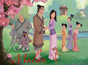 List of disney 39 s mulan characters wikipedia for How do i find the name of a movie