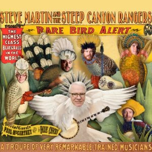 <i>Rare Bird Alert</i> 2011 studio album by Steve Martin & Steep Canyon Rangers