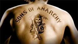 Sons of Anarchy intertitle
