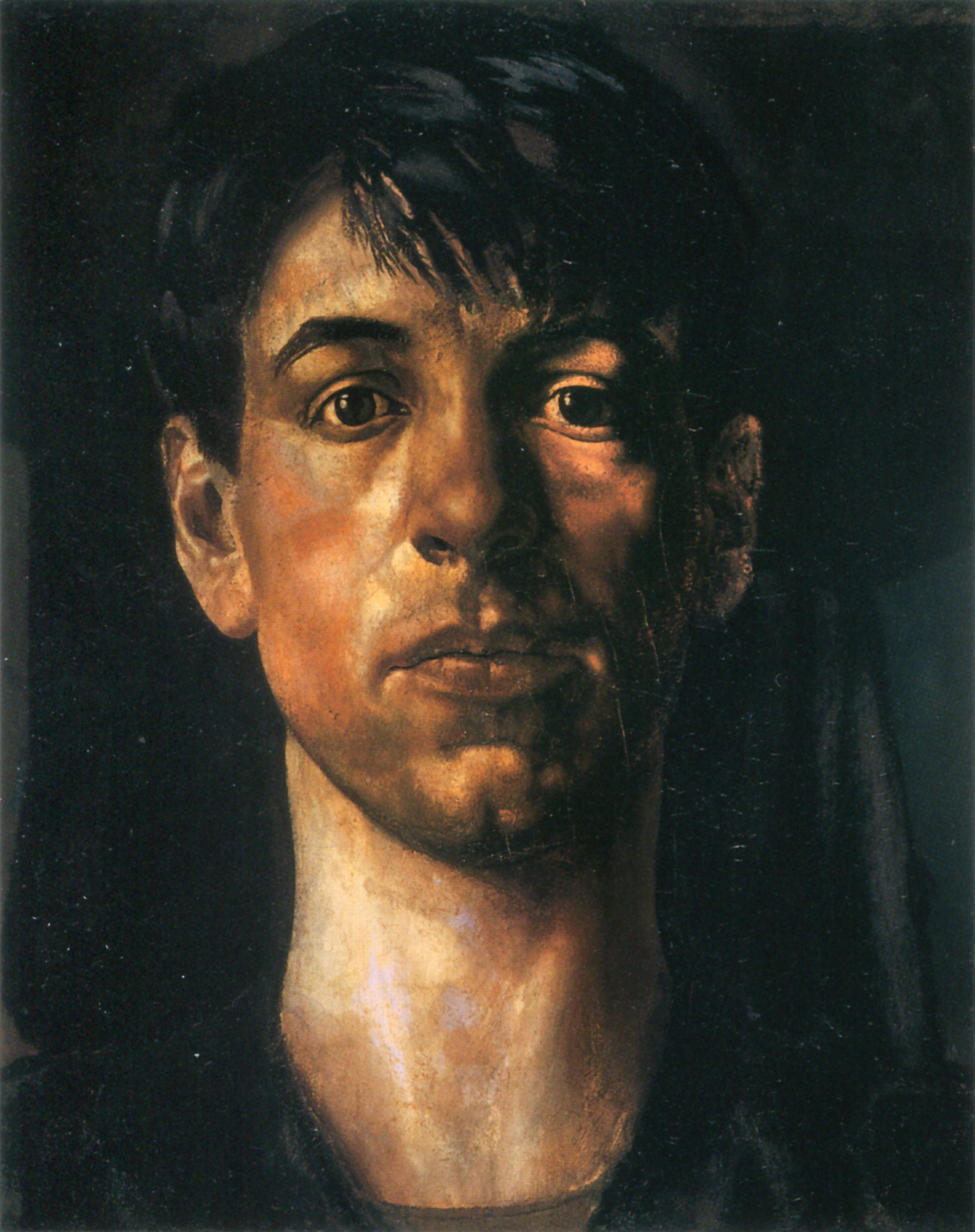 stanley spencer Shirin and unity spencer are shown as tiny, bent-over women with a deeper understanding of a flawed man.
