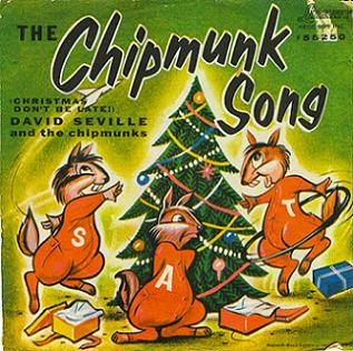 Image result for the chipmunk song 1958