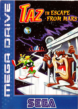 Taz in Escape from Mars Sega Genesis